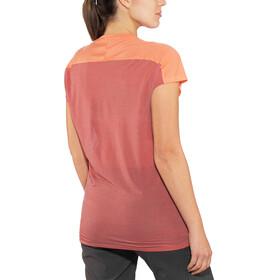 Norrøna Bitihorn Wool - T-shirt manches courtes Femme - rouge